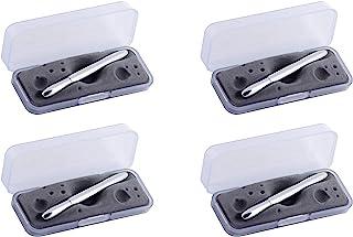 Fisher 太空笔子弹镀铬,礼盒装 Chrome (Pack 4)