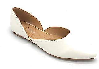 J.Mark 女士尖头一脚蹬平底鞋