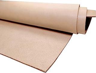 Muse Craft 无暇 2 件 30.48 x 30.58 厘米植物鞣制皮革 141.70-170.10 克预裁| 进口一级皮革皮革隐藏 1.9-2.3 毫米| 全粒面植物鞣制皮革,用于雕刻、塑形、染色(2 件 S12 x 12 英寸)