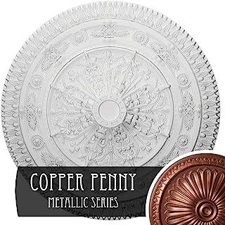 Ekena Millwork CM37NAACS Naple 天花板徽章,93.98cm x 9.53cm,古铜 铜笔 CM37NACPS