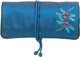MMA 旅行首饰盒 首饰 卷 首饰 旅行盒 Louis C. Tiffany 设计 蓝色首饰卷