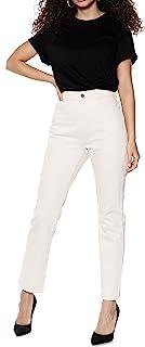IVYREVEL 女士牛仔高腰直筒牛仔裤