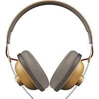 Panasonic 松下 RP-HTX80BE-C 无线蓝牙耳机,舒适头顶复古风格,带麦克风和动态低音,带声学低音控制…