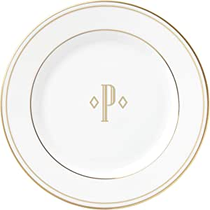 Lenox 联邦金块交织字母餐具 字母 P 871954
