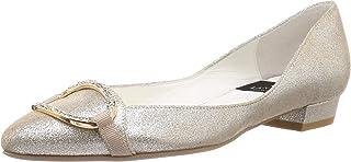LANVIN Collection 尖头图案切割浅口鞋 9458 女式
