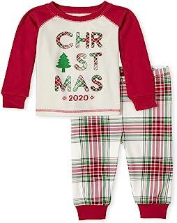 The Children's Place 男婴圣诞睡衣套装