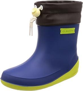 MoonStar 雨靴 日本制造 防滑鞋底 13~19厘米 男孩 女孩 儿童 RB B02