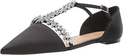 Badgley Mischka Jewel Maury Mary Jane 女士平底鞋