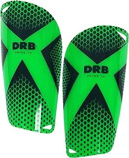 DRB 足球护腿 Prime 2.0 | EVA 缓冲保护减少冲击和受伤| 胫骨和小腿套足球装备 适合 3-15 岁男孩和女孩