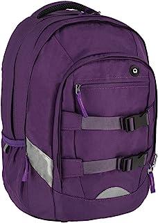 "SPIRIT 背包书包笔记本电脑包书包大容量旅行包男孩女孩""URBAN 22"",407936,紫色"