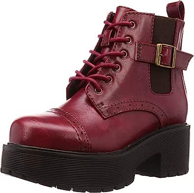 YOSUKE 厚底系带短靴 6310014 女士