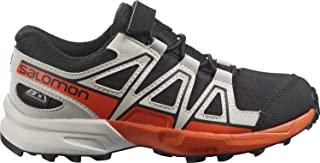 Salomon 萨洛蒙 Speedcross ClimaSalomon 防水越野跑鞋,带简易系带,适合儿童