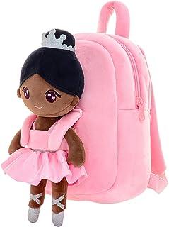 Gloveleya 幼儿背包儿童背包,带柔软芭蕾舞娃娃,适合 2 岁以上儿童