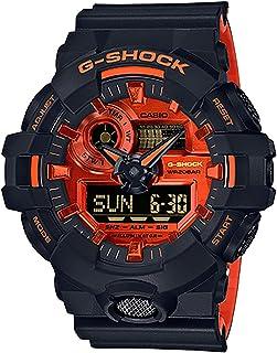 G-Shock 男 GA-700BR-1ACRGA700BR-1A Analog-Digital 树脂 黑色 GA-700BR-1ACR watches