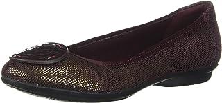 Clarks 女士 Gracelin Lola 芭蕾平底鞋