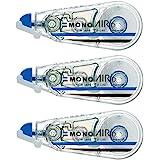 TOMBOW铅笔 修正带 MONO MONO MONO 6mm 3個 透明