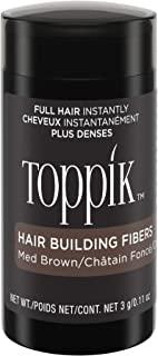 TOPPIK 顶丰发胶纤维 中褐色 0.11 oz.