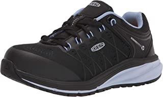 KEEN Utility 女式 Vista Energy 低帮运动鞋复合鞋头工作鞋