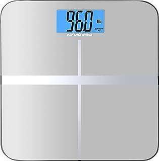 BalanceFrom 百领方高精度电子体重秤,3.6 英寸 (9.1 cm) 特大号背光显示屏