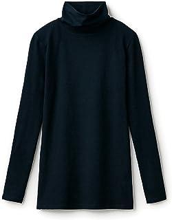 [BELMEZON] 保暖内衣 热棉·混棉高领长袖女装 黑色