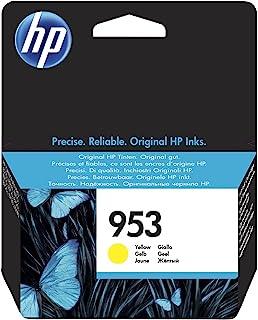 HP 惠普 953 黄色 原装墨盒 – 适用于打印机(黄色、标准、HP惠普、-40 – 60摄氏度,Officejet Pro 8210 Officejet Pro 8218 Officejet Pro 8710 AIO Officejet P...