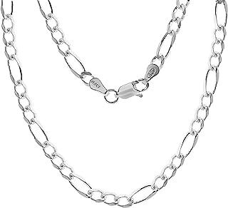 ARTURO ZETA 925 纯银费加罗链意大利男士项链(各种款式)