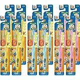 狮子儿童牙刷 6-12岁用 小黄人 套装 12支