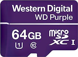 Western Digital 闪存卡 WDD064G1P0A 64 GB 紫色