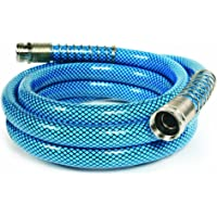Camco 10 英尺(约 3.0 米)高级饮用水软管 - 无铅和 BPA,防扭结设计,比标准软管厚 5/8 英寸(约…