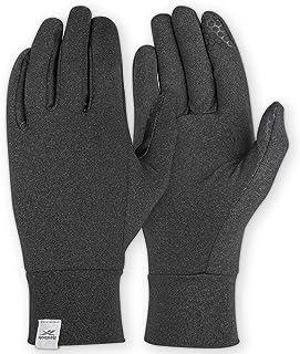 Reebok 中性保暖 S 跑步手套,黑色
