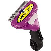 FURminator Short Hair deShedding Tool for Cats, Large