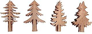 Rayher 46543505 木制冷杉木夹子,自然色,2.5 x 5.2 厘米 - 3.5 x ,5.2 厘米,4 件,正常