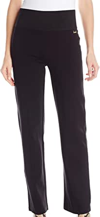 Calvin Klein Women's Power Stretch Wide-Waist Pant
