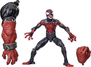 Hasbro 孩之宝Marvel Legends 漫威传奇系列 毒液 6英寸(约15.24厘米)可收藏手办Toy Miles Morales,高级设计