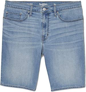 Goodfellow & Co 男式 10.5 英寸(约 26.7 厘米)修身牛仔短裤 -