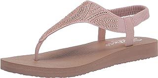 Skechers 斯凯奇 女士 Meditation 露跟凉鞋