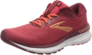 Brooks Adrenaline Gts 20 女士跑步鞋 Rumba Red Teaberry Coral 3 UK