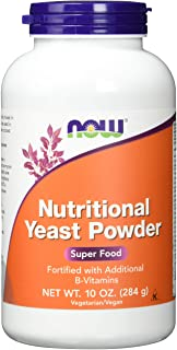 Now Foods Nutritional Yeast Powder, 10-Ounce (Pack of 3)