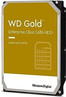 Western Digital Gold 4TB 企业级内置硬盘-7200 RPM级,SATA 6 Gb / s,256 MB高速缓存,3.5英寸-WD4003FRYZ