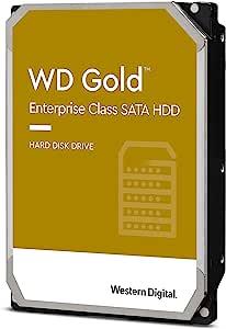 Western Digital 西部数据 18TB WD Gold Enterprise Class 内置硬盘 - 7200 RPM Class SATA 6 Gb/s,512 MB 缓存,3.5 英寸 - WD181KRYZ