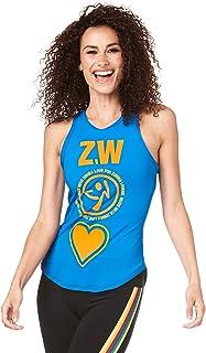 Zumba 女士高领健身时尚背心