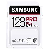SAMSUNG PRO Plus SDXC 全尺寸SD卡 128GB (MB SD128H) (MB-SD128H/AM…