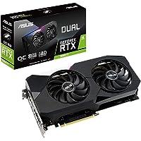 ASUS 华硕 搭载NVIDIA GeForce RTX 3060Ti芯片 显卡 双风扇款 8GB显存 DUAL-RTX…
