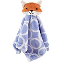 Hudson Baby Animal Friend 毛绒*毯 Blue Fox 14 x 14 Inches