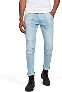G-STAR RAW 男士 5620 Elwood 3D 修身牛仔裤