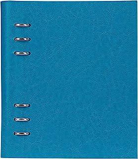 filofax 斐来仕 023612 Clipbook A5 铁蓝色 活页多功能记事本 笔记本 活页本日记本 万用手册 手账