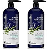 Avalon Organics Biotin-B 复合浓缩洗发水,32 液体盎司 Biotin-B Complex Th…