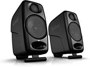 IK Multimedia iLoud Micro Monitors 桌面3寸超緊湊型藍牙音響錄音室有源監聽音箱 黑色