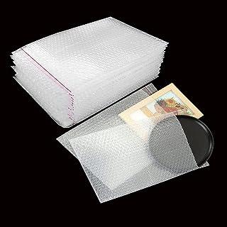 Eyluck 25 件装透明气泡袋和袋,7.8 英寸 x 13.65 英寸保护性自密封气泡包装袋双层缓冲袋加厚防震泡沫袋,用于运输、储存和移动