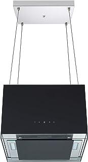 respekta 设计岛式抽油烟机 50 厘米,黑色 CH11050ISB,EEK:B
